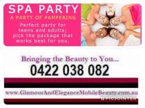 Ultimate spa party Penrith Party Planners _small