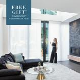 Free gift with purchase: A PowerView Hub valued at $599* Double Bay Interior Designers _small