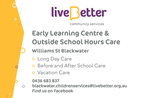 LiveBetter Early Learning & Outside School Hours Care Blackwater